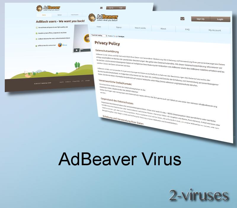 AdBeaver Virus Remove