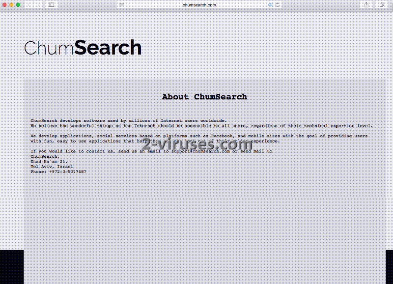 chumsearch 2 viruses