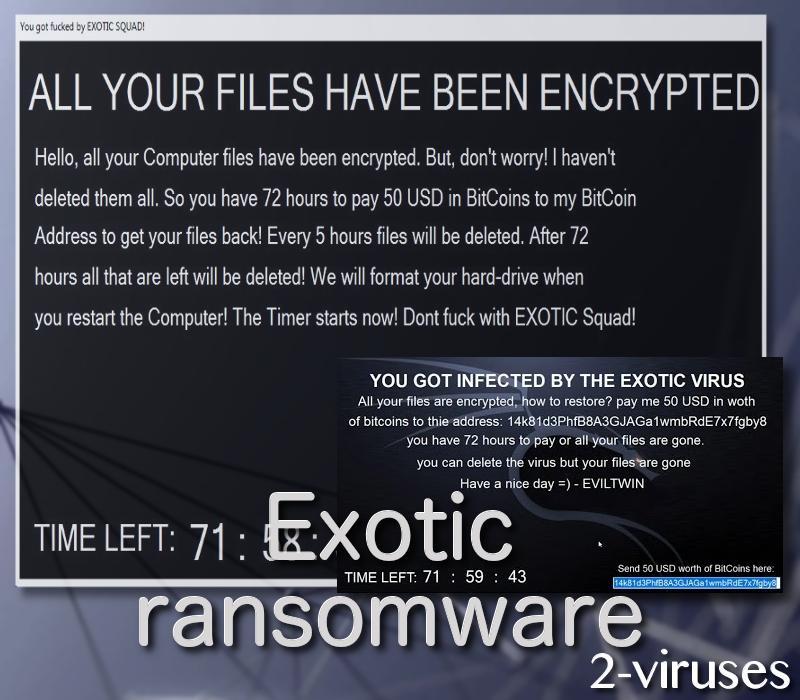 exotic-ransomware-2-viruses