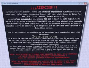 De LLTP ransomware