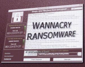 De WannaCryptor ransomware
