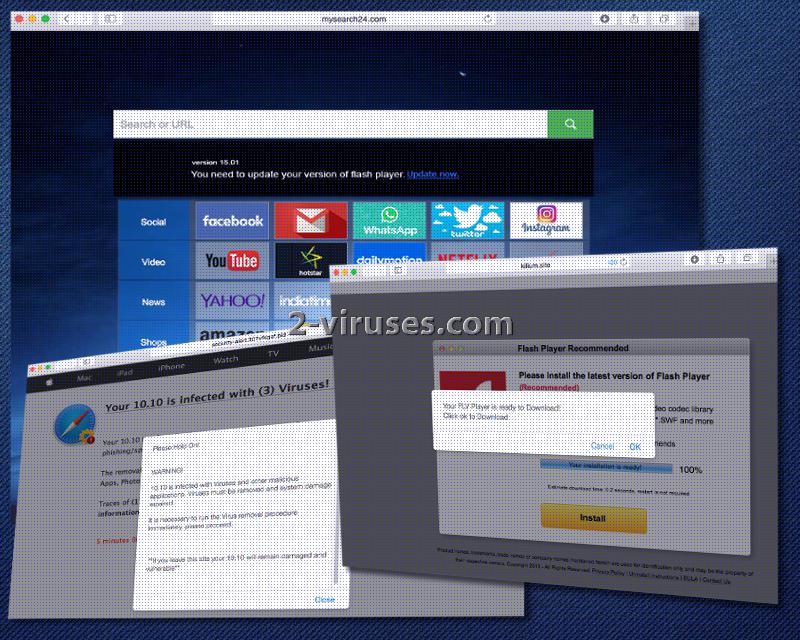 Mysearch24.com hijacker