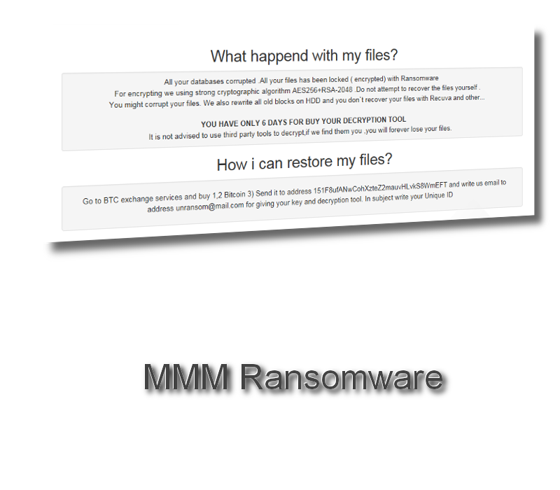 MMM Ransomware remove