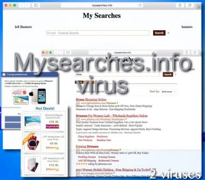 Mysearches.info virus