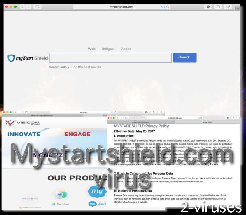 Mystartshield.com computer virus