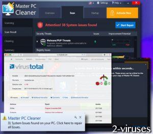 Master PC Cleaner POT