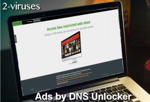 Advertenties van DNS Unlocker