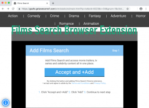 Films Search Browser Extension